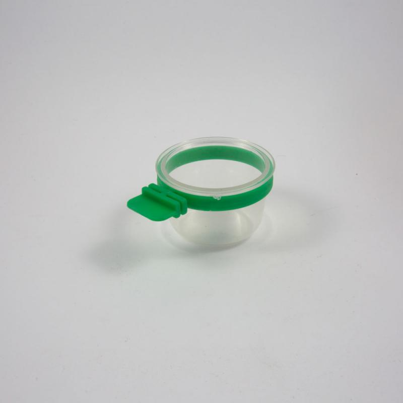 Egg cup with ring